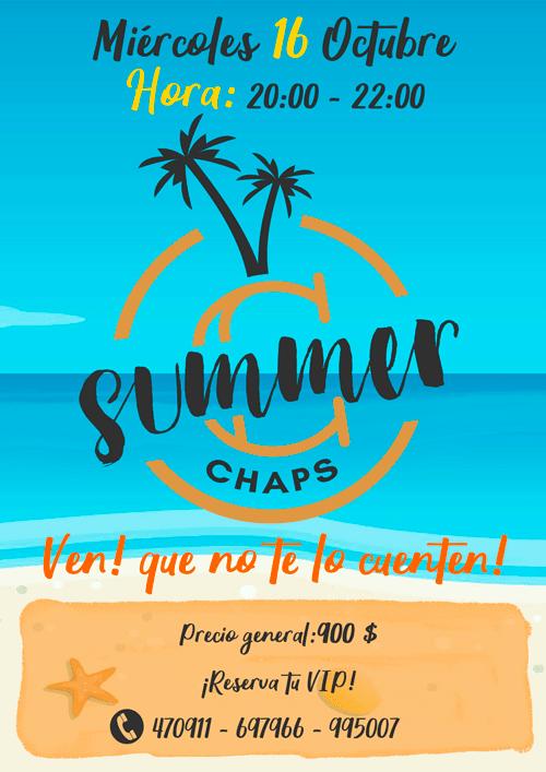 Summer Chaps - Apertura diaria
