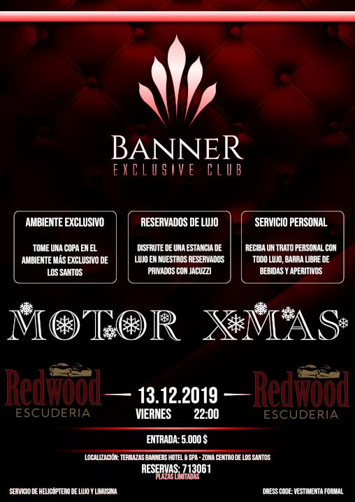 BANNER EXCLUSIVE CLUB - MOTOR XMAS