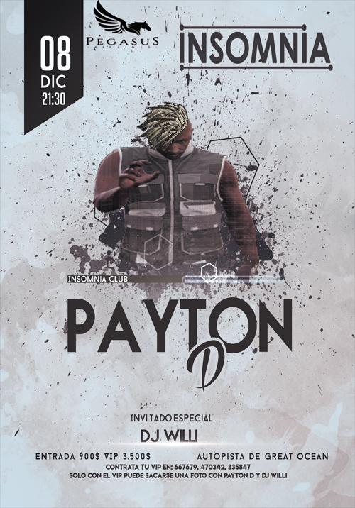 Concierto Payton-D - Insomnia Club