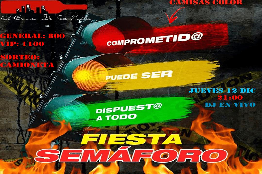 Fiesta semáforo en El Correo De La Noche Club
