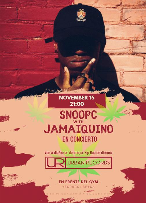 Concierto SnoopC ft Jamaiquino